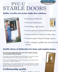 Stable Door Brochure Brochure