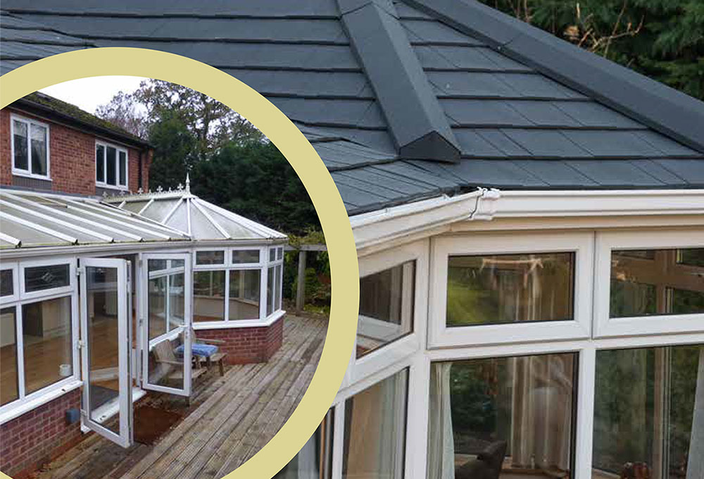 Well insulated conservatory example